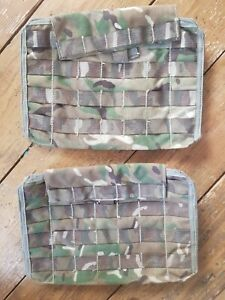 2X British Army Osprey MK4A Side Plate Pocket (NO ARMOUR) MTP - Used Grade 2