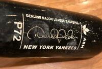 Louisville Slugger P72 DEREK JETER New York Yankees Pro MLB Game Baseball Bat