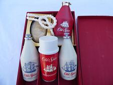 Shulton Old Spice After Shave Cologne Aerosol Deodorant Talc Soap Vintage Set