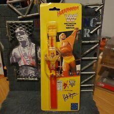 WWF WWE Hulk Hogan Hulkamania 1991 Titan Sports WATCH MOC MINT HASBRO ERA WCW
