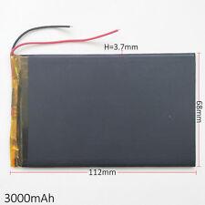 350 0mAh 3.7 v Lipo Polímero Batería Recargable Para Tablet Pad Power Bank de 3768112