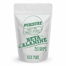 Beta Alanine Powder 250g (334 Servings) - Bulk Pre Workout Nutrition - Unflav...