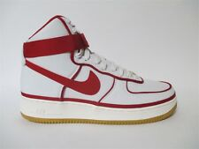 Nike Air Force 1 High LV8 Sail Red Black White Gum Vandal Sz 9.5 806403-101