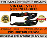 UNIVERSAL BUCKLE SEAT BELT LAP SAFETY BELTS ADJUSTABLE REPLACEMENT (NEW) 2 POINT