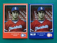1980 Charlotte CAL RIPKEN JR Orioles Minor League Baseball REPRINT Rookie Cards
