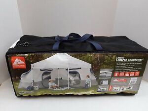 Camping Tent 8 Person Cabin Family Outdoor Shelter 2 Room Connectent For Canopy