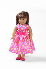 new clothes dress baby gift  for 18inch American girl doll party b140