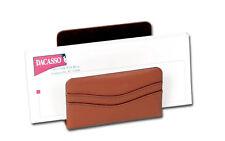 Dacasso Tan Genuine Leather Letter Holder