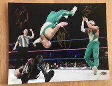 THE SPIRT SQUAD KENNY & MIKEY SIGNED 8x10 PHOTO WWF WWE ECW WITH Hologram COA