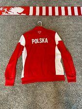 Poland Nike National Soccer Team Jacket Large Scarf World Cup Euro 2020 🇵🇱
