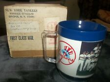 1981 New York Yankees Team Photo Fan Appreciation Day Mug CitiBank In Box EAGLE