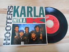 "7"" pop Hooters-Karla with a K/washington's Day CBS rec"