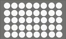 Möbelpflaster Weiß seidenmatt ( Möbelaufkleber Dekoraufkleber Schraubenabdeckung