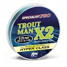 MONOFILO JTM (DAIWA) X2 trout man  MT 300 DIAMETRO 0.22mm