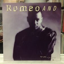 """NM 12""""~ROMEO AND~For You I'll Do Anything~[Vocal Opera~Extended~Beat~Radio~Instr"""