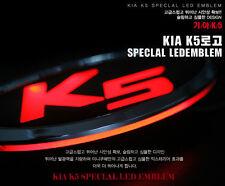 (Fits: KIA optima K5) Front grille white & red LED emblem