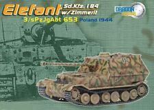 Armadura de dragón 60123 1/72 Elefant Polonia Sd.Kfz.184 1944