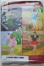 Simplicity Pattern 2547 Womens Wizard of Oz Costumes 18W-24W Dorothy Witch Uncut