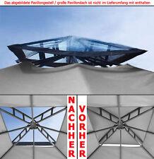 Kamindach TRANSPARENT PE durchsichtig Pavillon Dach Ersatzdach wasserdicht NEU