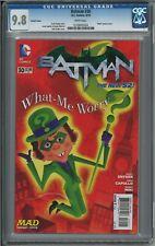Batman #30 MAD Magazine Riddler Neuman Variant CGC Graded 9.8 DC Comics