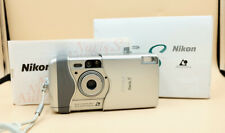Vintage NIKON NUVIS S APS film point and shoot camera with box lomo