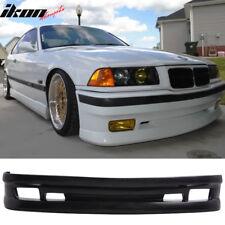 Fits 92-98 BMW E36 AC Type II Style Half Front Bumper Lip - Urethane
