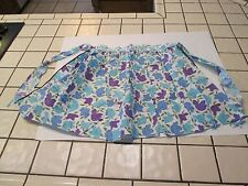 Vintage: Handmade Half Apron, RETRO FLORAL PRINT