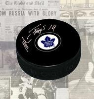 Miroslav Frycer Toronto Maple Leafs Autographed Puck