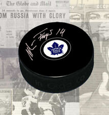 Miroslav Frycer Toronto Maple Leafs Autographed Puck
