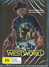 West World Dvd ( Yul Brynner, Richard Benjamin, James Brolin,) New