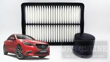 Mazda Mazda6 GJ 2.5L SkyActiv~G Petrol 12/12~on AIR + OIL FILTER SERVICE KIT