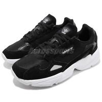 adidas Originals Falcon W Black White Womens Shoes Chunky Sneakers B28129