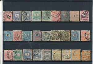 D133937 Hungary Nice selection of Used ot VFU Stamps Mixed Condition