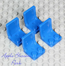 NEW Lego Lot/4 BLUE MINIFIG CHAIRS 4 Kitchen Table - Car/Truck/Vehicle Seat