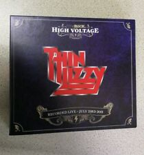 Thin Lizzy Live At High Voltage 2011 rare cd festivals show brand new rare 3cds