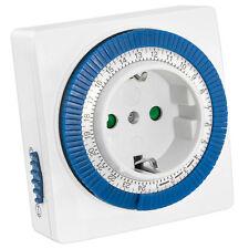 mumbi mechanische Zeitschaltuhr 3500W GS geprüft Ein/Auto-Funktion Uhr
