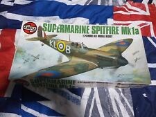 airfix supermarine spitfire MK 1A COMPLETE KIT READY TO ASSEMBLE