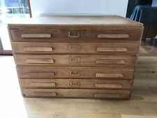 Architects Artist's Drawers/Plan Map Chest 6 Drawers