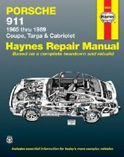 Repair Manual Haynes 80020 fits 65-89 Porsche 911