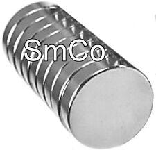 "1/2"" x 1/8"" Disc - SmCo - Samarium Cobalt Rare Earth Magnet, Grade N30"