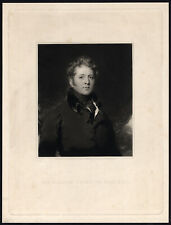 Antique Print-PORTRAIT-SIR WILLIAM KNIGHTON-Cousins-Lawrence-1825