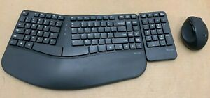 V7 Wireless Ergonomic Keyboard and Mouse Combo English ✅✅New