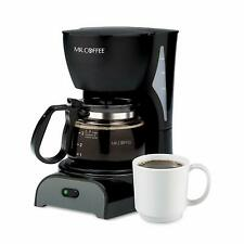 Mr. Coffee 4 Cup Switch Filter New Black Coffeemaker  Open Box