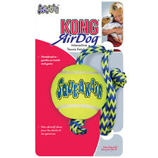 Kong Squeaker Ball with Rope Medium Free Shipping