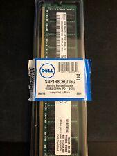 New listing Dell 16 Gb Ecc Rdimm 2133 Mhz Pc4-17000 Ddr4 Sdram Memory (Snp1R8Crc16G)