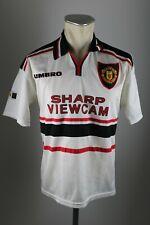 Manchester United Trikot 1997-98 Gr. Y XS Umbro Jersey Sharp vintage 90s 90er