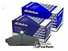 Front & Rear Disc Brake Pads Set ACDelco suitable for Hyundai iLoad & iMax 2008-