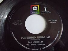 Ray Charles Something Inside Me / I Want To Talk About You 45 1967 Vinyl Record