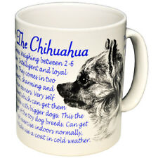 Chihuahua - - Fine bone china mug - Dog Origins Breed Origins