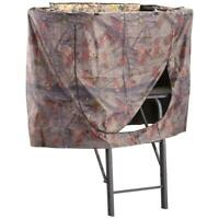 Universal Hunting Tree Stand Camo Pattern Blind Fabric Ladder Climbing Game Deer